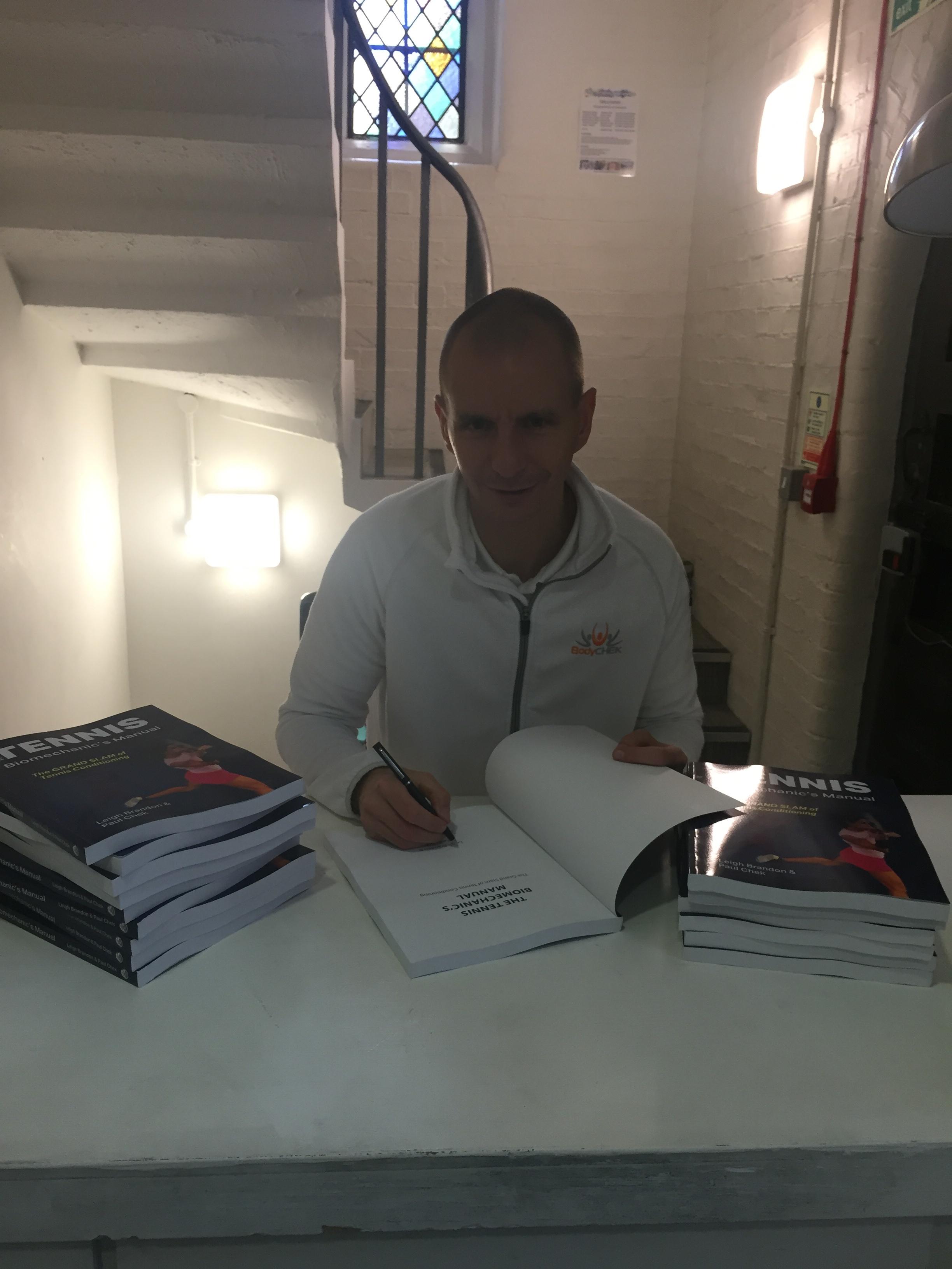 CHEK Exercise Coach and The Tennis Biomechanics Manual
