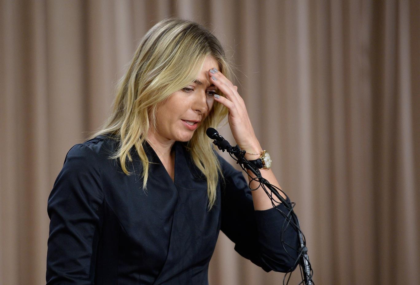 Sharapova Tests Positive to Meldonium –