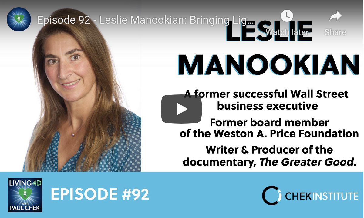 Leslie Manookian: Bringing Light to the Darkness of Health and Freedom