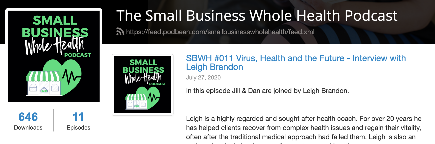 Virus, Health and The Future – My Podcast Guest Appearance