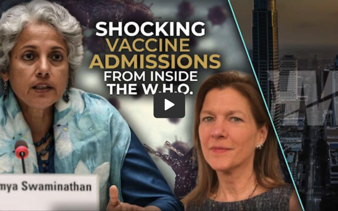 Admission by WHO on Vaccine Safety Studies